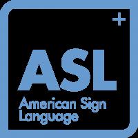 American Sign Language Icon